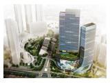 Disewakan 2 unit Office SOHO CAPITAL seluas 121 m2 dan 279 m2 (MURAH)