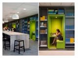 Sewa Ruang Kantor + Ruang Meeting Harian dan Virtual Office di Jakarta Pusat - Furnished Lengkap
