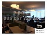 DISEWAKAN OFFICE SPACE APL TOWER 120sqm FULLY FURNISHED LOW ZONE
