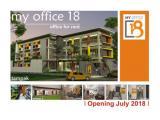 Sewa Kantor murah - gedung baru - Jln Lamping , Kota Bandung