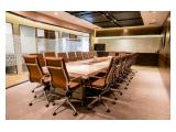Sewa Kantor Furnished di Gatot Subroto, Jakarta Selatan (Serviced Office, Virtual Office, Meeting Room & Co-Working Space
