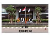 Dijual / Disewakan Office SOHO Pancoran, Jakarta Selatan