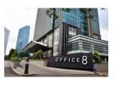 Office 8 @ Senopati, 107m2, bare / siap pakai