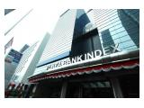 Sewa Ruang Kanto / Office Space di Plaza Bank Index ( d.h Plaza Permata )