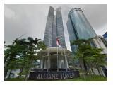 Sewa Ruang Kantor / Office Space di Allianz Tower Jakarta Selatan