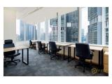 Sewa Ruang Kantor Full Furnished with Brand New Office
