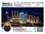 Sewa Office Space 1.350 sqm APL Tower at Central Park, Podomoro City, Tanjung Duren, Jakarta Barat.