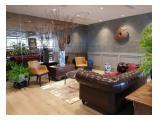 DISEWA: Office DISTRICT 8 SCBD 200 RIBU/M PROSPERITY Luas 128 m & 133 m BEST VIEW & MURAH