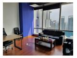 Disewakan Ruang Kantor Soho Capital Tower Central Park Kondisi Furnished,Podomoro City Jakarta Barat