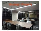Disewakan space kantor di District 8 Treasury & Prosperity Tower Senopati SCBD Jakarta Selatan