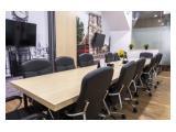Sewa Ruang Kantor, Virtual Office, Ruang Meeting dan Ruang Event Siap Pakai di Jakarta Pusat FitandCoSpace @ Redtop Complex