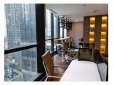 Office space di Treasury Tower, District 8, luas 318m2, semifurnished.
