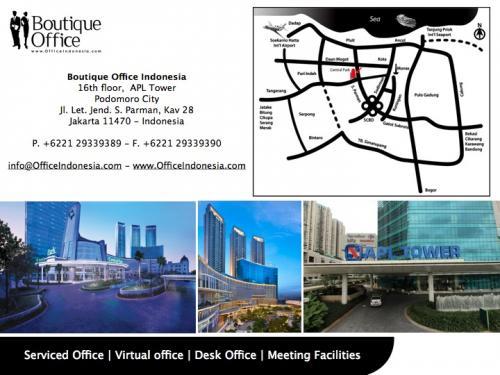 Sewa Kantor Di Apl Tower Jakarta Barat Boutique Office