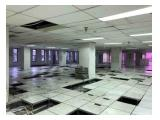 Disewakan Gedung 8 Lantai Strategis Jl Kebon Sirih Raya