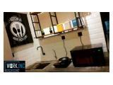 Termurah & Terlengkap Sewa Office Space / Virtual Office WORK.INC di Hayam Wuruk Jakarta Barat
