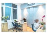 Disewakan Ruang Kantor di Slipi-Senayan, Bayar Bulanan – PROMO! 50% OFF BULAN INI