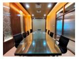 Sewa Super Murah Office Space 254,50 sqm APL Tower Furnished at Central Park