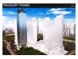 Dijual cepat Treasury Tower, District 8 SCBD luas 1/2 lantai 1360 m2 lantai Midzone, Harga Murah Rp. 55.000.000/m2. Status PPJB bisa segera AJB