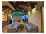 DISEWA Office DISTRICT 8 TREASURY 285m Fully Furnished Brand New by Designer Kapasitas 30 Staff Rp 320 ribu/m/bulan 08111-71-0202 Kunci Ready