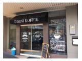 Sewa Ruko / Ruang Kantor / Tempat Usaha Coffee Shop Cafe di Business Park Kebon Jeruk Jakarta Barat