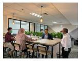 Sewa Service Office Murah di Menara 165 TB Simatupang Jakarta Selatan - Fully Furnished