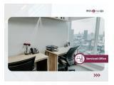 Sewa Kantor di Centennial Tower Gatot Subroto Jakarta Selatan - Full Furnished