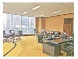 OFFICE FOR RENT (SEWA KANTOR) PLAZA MAREIN SUDIRMAN - FULLY FURNISHED
